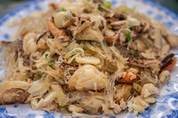 Miến Xào Cua (Bean Thread Noodles with Crab)